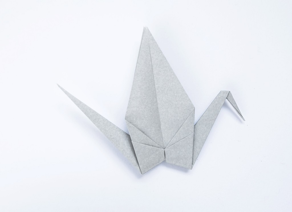 Origami Good Luck Charm in Paper