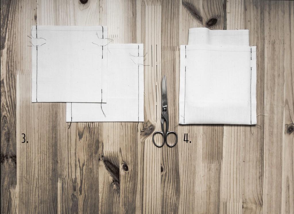 Tutoriel Comment réaliser des Pochettes brodées - Étapes de fabrication (Suite)