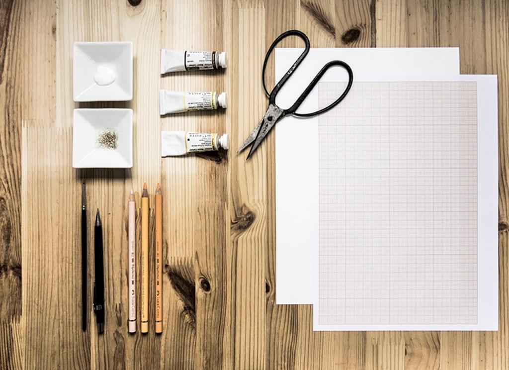 Matériel Fabrication cartes de VŒUX à imprimer