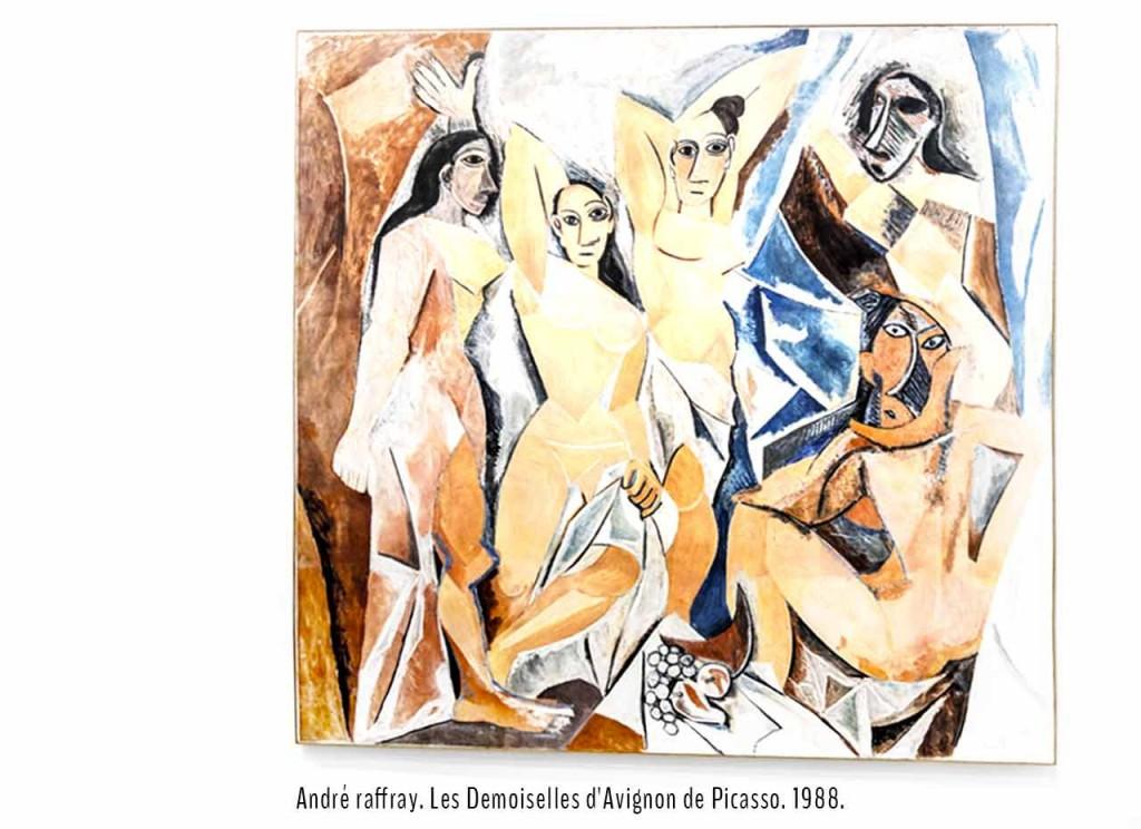 André Raffray. Les Demoiselles d'Avignon de Picasso. 1988.