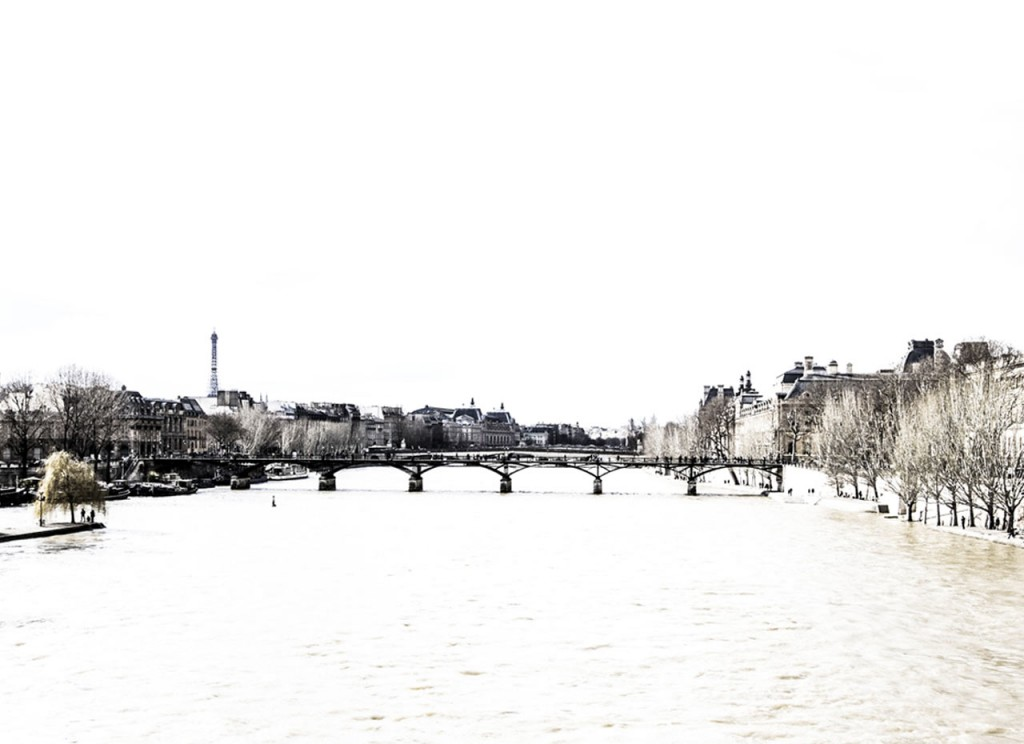 le pont des Arts - a walk along the Seine River
