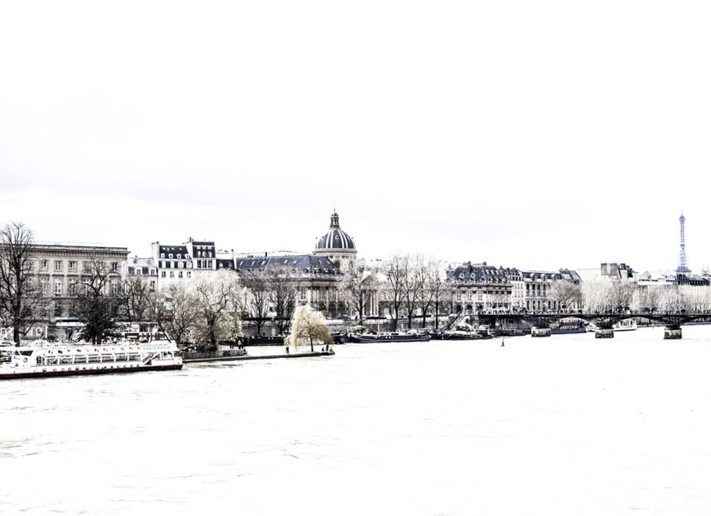 Sea View from La Seine River in Paris (France)