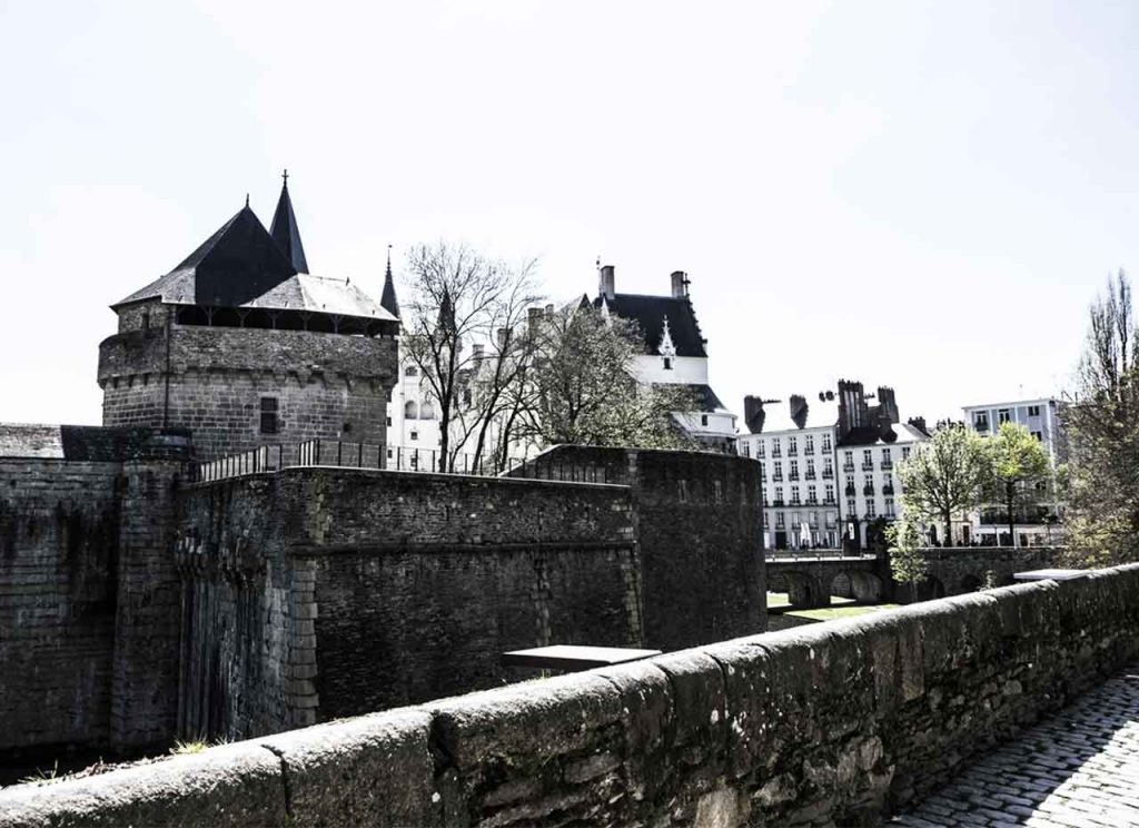 Nantes Castle of the Dukes of Brittany Battlement Walk
