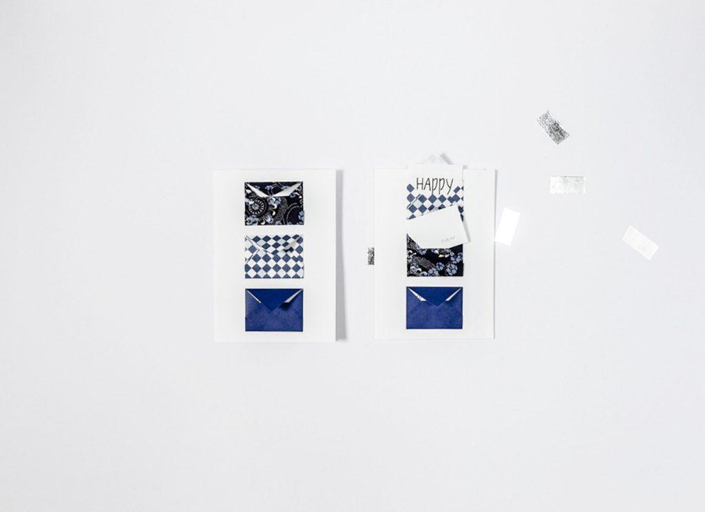 Carte de voeux - Glissez vos petits messages dans les enveloppes