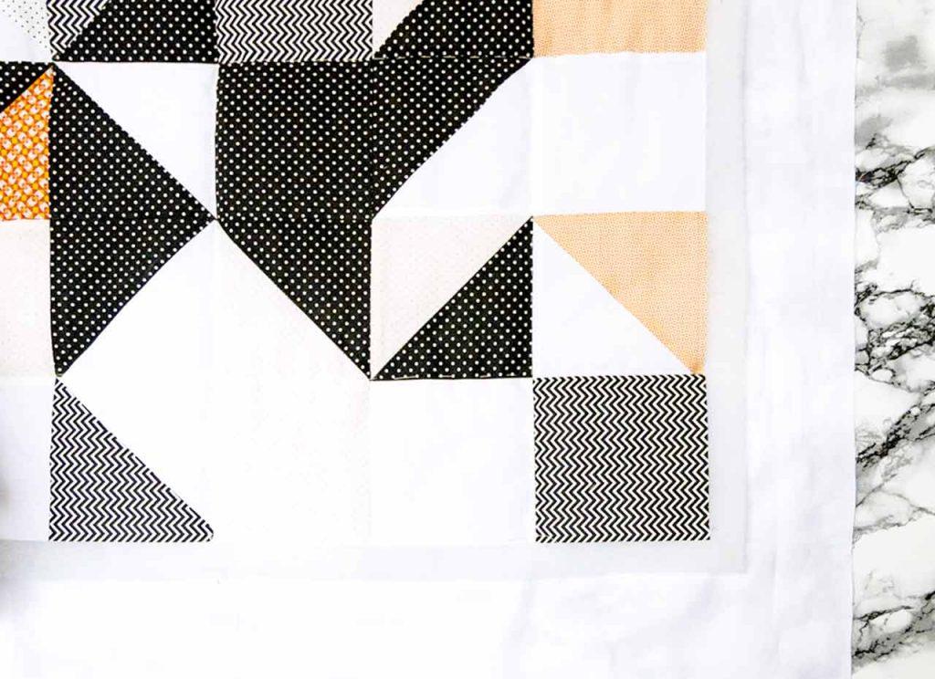 Comment former des carrés de patchwork