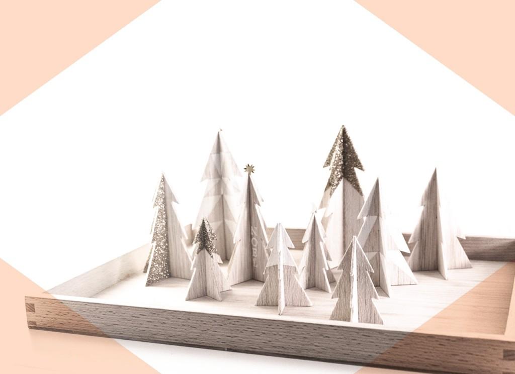 Promenade Sapin Forêt de balsa DIY