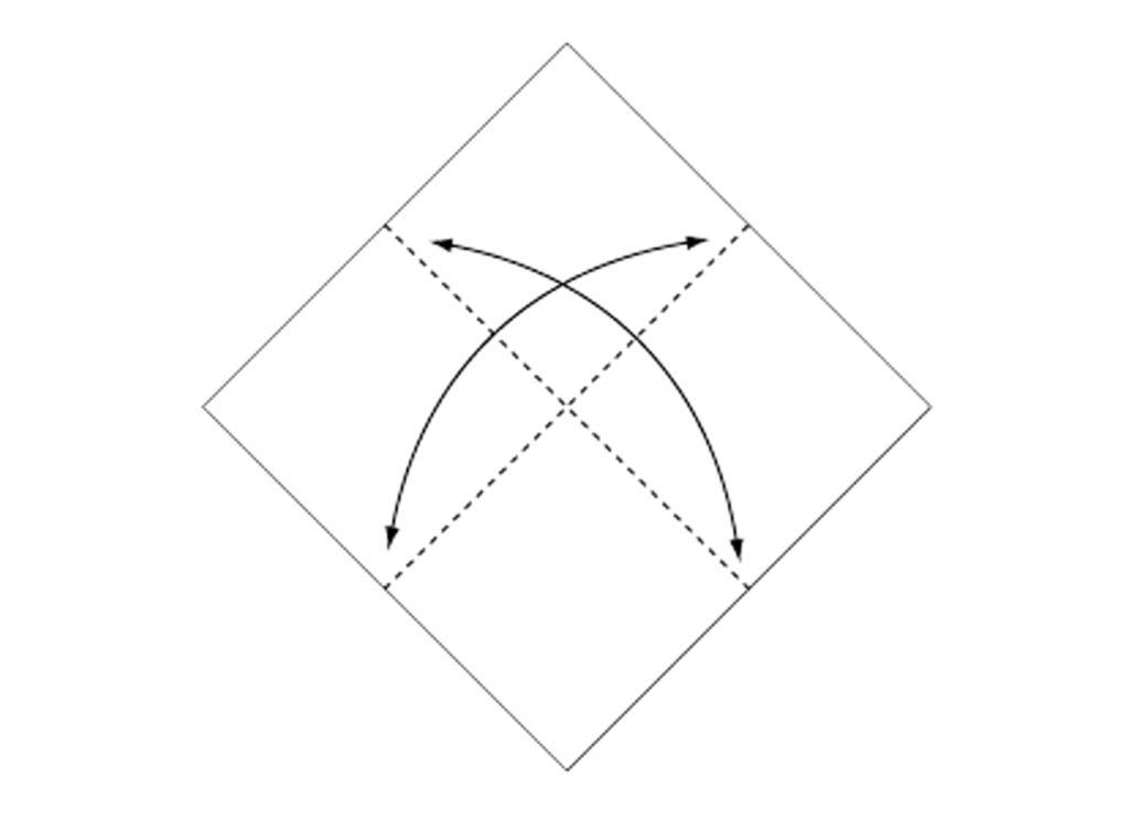 Origami Box Step 1