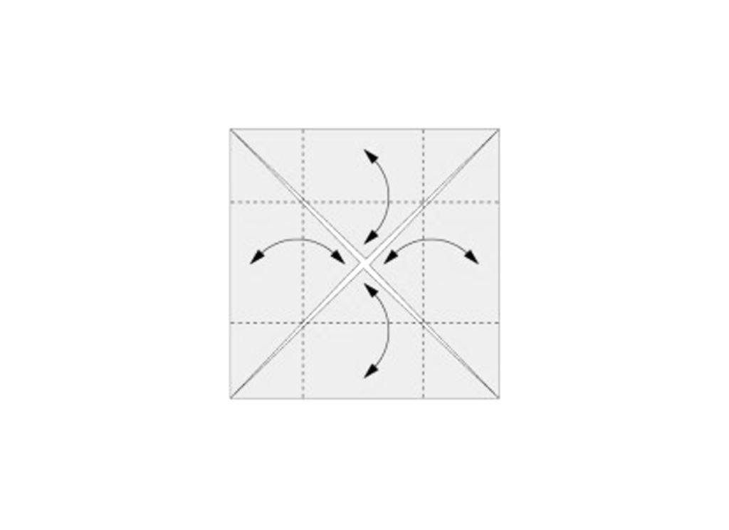 Origami Box Step 3