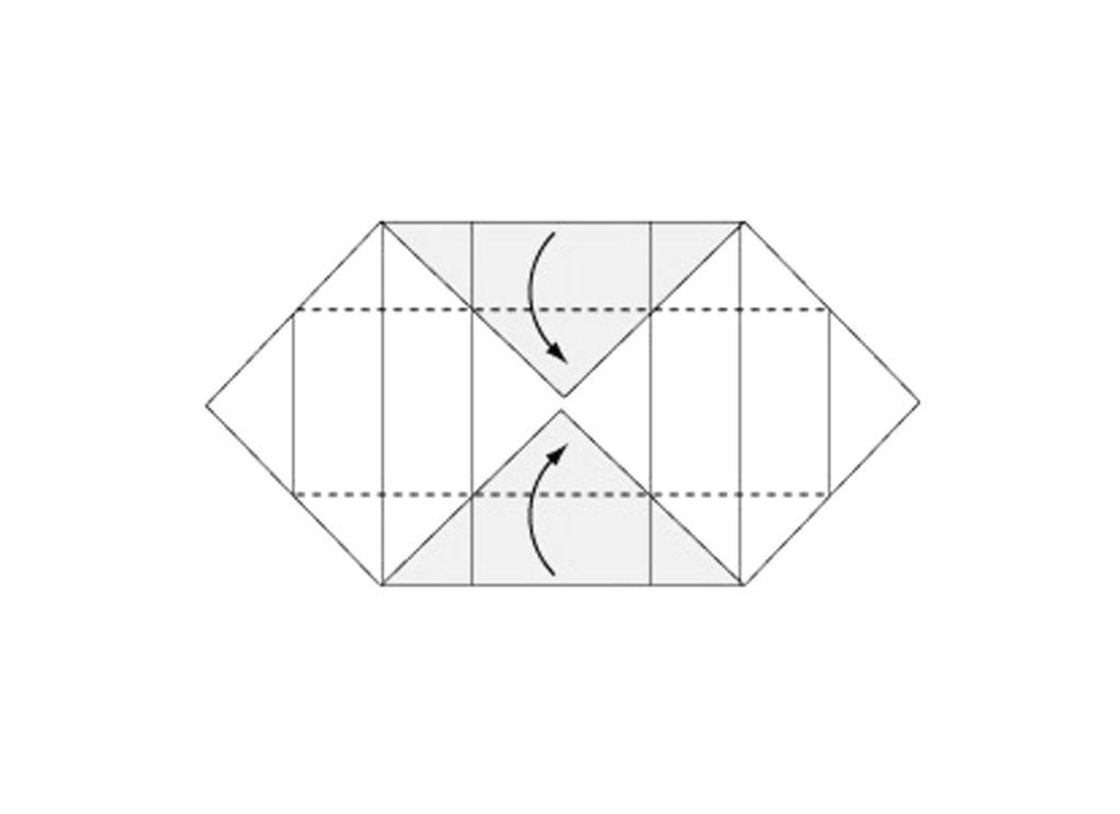 Origami Box Step 5