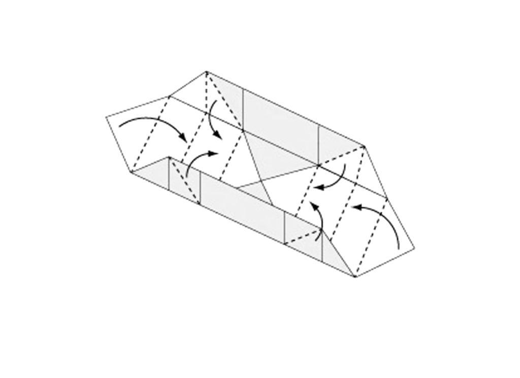 Origami Box Step 7