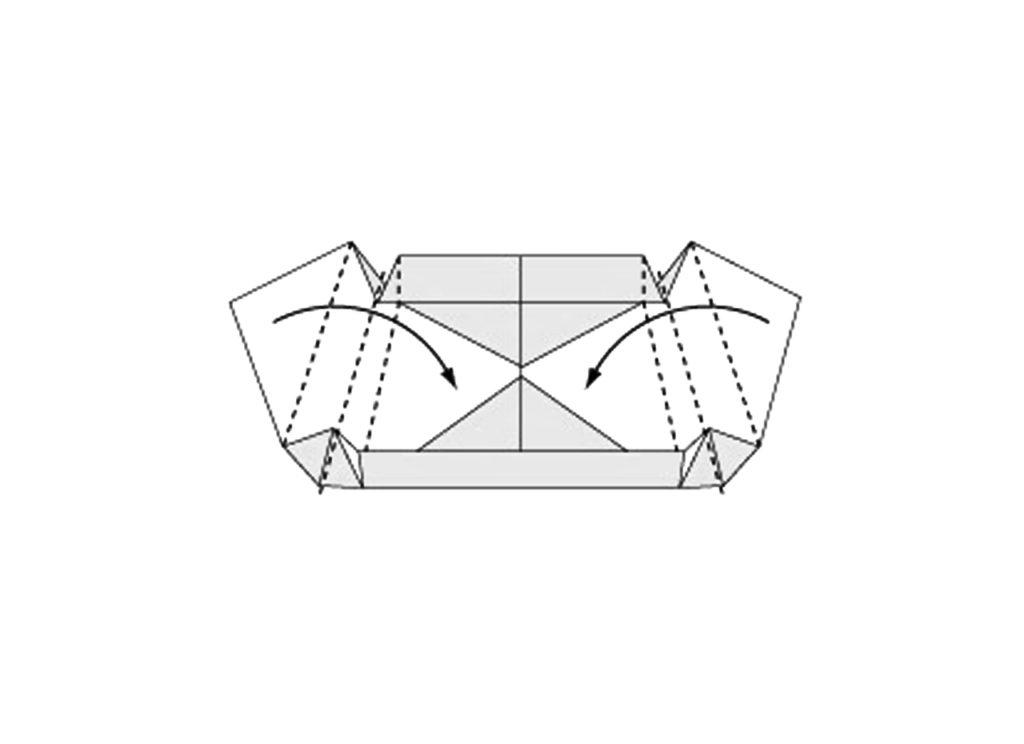 Origami Box Step 8