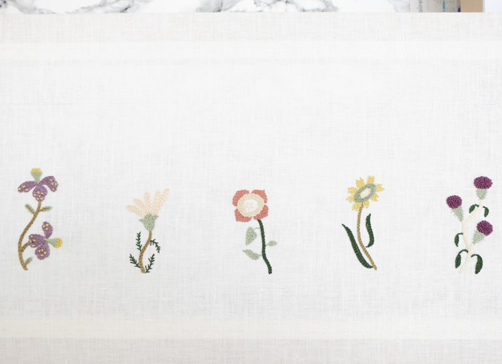 Embroidery Tips Flowers