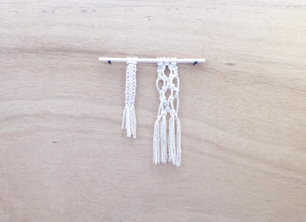 BoHo Macramé Half Hitch Knot Ideas